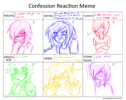 Confession Reaction Meme by Rainbow-fiedKitty