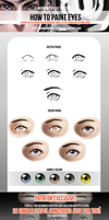 How to Draw and Paint Eyes (+Patreon Exlcusive PV) by MidnightSoiree