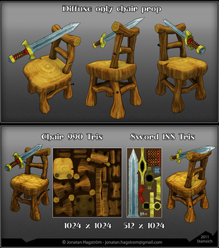 3D Fantasy Chair by Stamsich