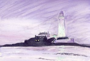 St Mary's, Whitley Bay by divamentalis