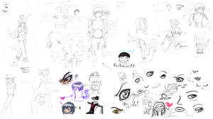 Another Massive Doodle Dump by Karret