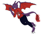 Floating Spirit The Charizard by ToxicNightmare756