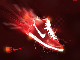 Nike advertising, wallapper. by imanol-h