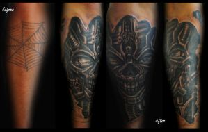 cover up tatt by karlinoboy