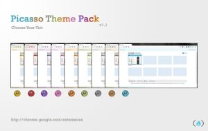 Google Chrome Tint Themes by arjunphlox