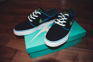 Nike SB Stefan Janoski Electric 80s by JacobKuiper