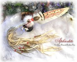 APHRODITE Feather Fan by ChaeyAhne