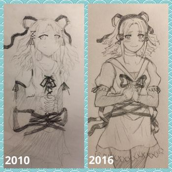 Draw this Again (2010-2016): Glacie by Blazing0Pixel