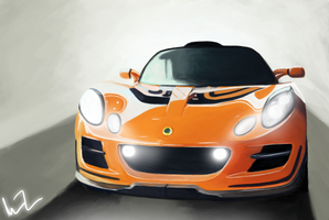 Lotus Exige by MeganImel