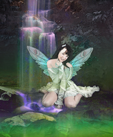 Fairy Falls by jantheempress