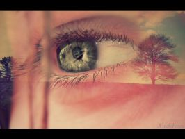 Sky and Eyes by Nach4ever