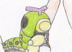 Caterpie Loves Misty by melia161