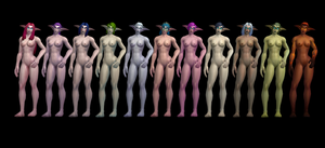 (18+) Night Elves (XPS) by dawadd