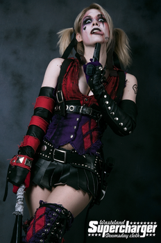Harley-quinn by lasupercharger