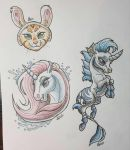 Tattoo Designs: Cute Critters by MySweetQueen