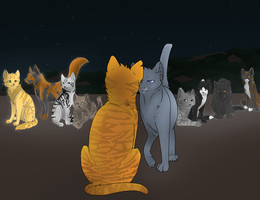Firestar's 9 Lives by LunarJay0123