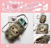 FLOOM - Kawaii Necklace Pouch Plushie by TomodachiIsland