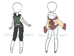 Naruto Outfit Adopts 5 [close] by SpringPeachAdopts