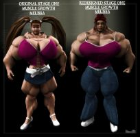 Stage1 Muscle Melissa Redsign by Stone3D