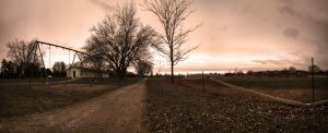 Path at the Park by TheSpenner