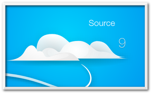 Cloud 9 Source SVG by Islingt0ner