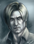 RE6 Leon by Moody-Ferret