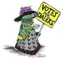 votes for daleks by grocky