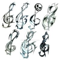 Clefs by ThisIsTwistedMinds