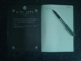 death note notebook by death-note-boy
