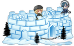 Kings of the Snow Fort by nyharu
