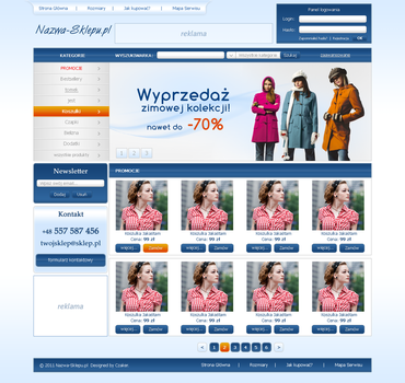 Shop website by czaker