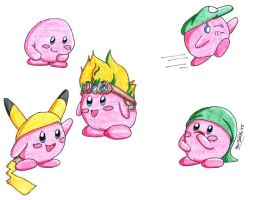 Kirby transformations 01 by Amandaxter