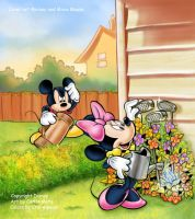 Mickey and Minnie by CarlosMota
