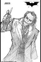 JOKER_THE DARK KNIGHT by DRAKEFORD