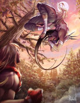 Ibuki vs Ken by RaphooN