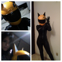 Celty Sturluson Cosplay by PaoUchiuga