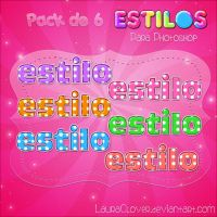 Pack de estilos de topitos by LauraClover