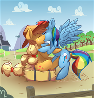 Appledash shippiiiiiing by murries