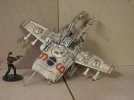 1980's scratch built space ship by qzbk