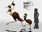 doduo and dodrio by miragedtheory