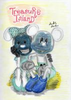 Negative Minnie and Mickey Mouse by Sophia62134