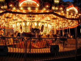 Carousel Horses Canfield Fair by TheStockWarehouse