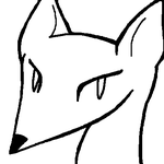 Free Fox Icon Lines by VampyKit