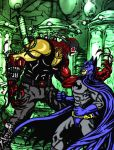 Batman Vrs Bane and Carnage by webbcomics