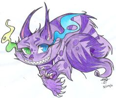 Cheshire Cat by TwinCandles