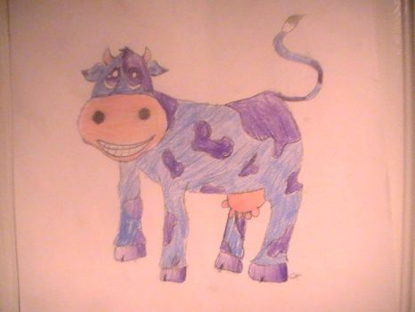 purple cow by shade32113