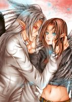 fin commission - hate love by AikaXx