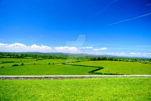 Ireland Endless Landscape by rafaelmcsilveira