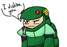 Snake Man dislikes you. by ShinyTotodile