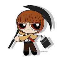 Crossover - Powerpuff Light Yagami by DaphInteresting